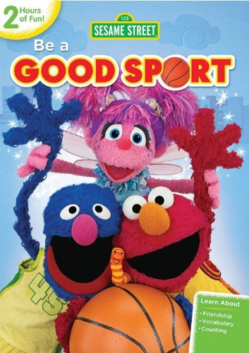 Sesame Street Be A Good Sport DVD Nr