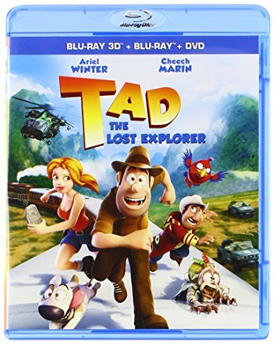 Tad The Lost Explorer Tad The Lost Explorer Blu Ray DVD 3d Nr Ws