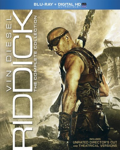Chronicles Of Riddick Riddick Complete Collection Blu Ray Uv R Ws