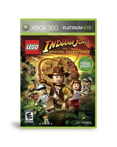 Xbox 360 Lego Indiana Jones The Origina Disney Interactive Distri E