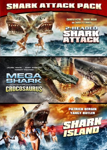 2 Headed Shark Attack Mega Sha Shark Attack Pack Nr 2 DVD