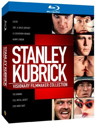Visionary Filmmaker Collection Kubrick Stanley Import Gbr 8 Blu Ray