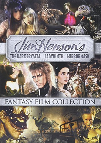 Dark Crystal Labyrinth Mirrormask Triple Feature DVD Triple Feature