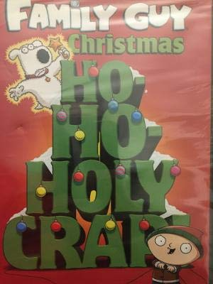 Family Guy Christmas Ho Ho Holy Crap DVD