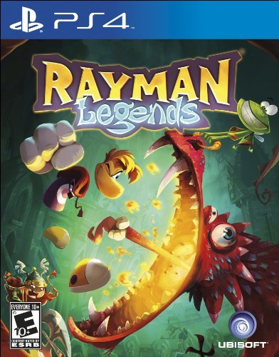 Ps4 Rayman Legends Ubisoft Entertainment Inc. E10+