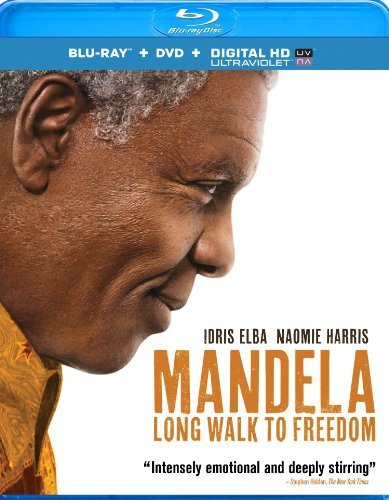 Mandela Long Walk To Freedom Elba Harris Pheto Blu Ray Uv Pg13 Ws
