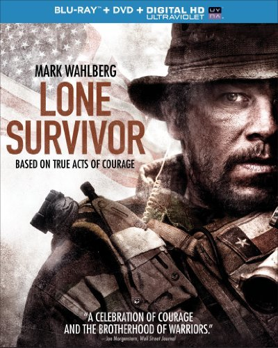 Lone Survivor Wahlberg Mark Blu Ray DVD Uv R DVD Uv