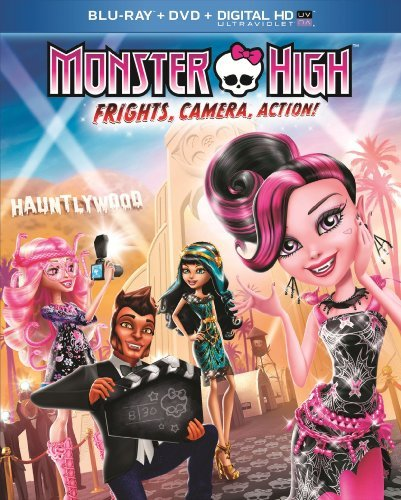 Monster High Frights Camera Action! Blu Ray DVD Nr Ws