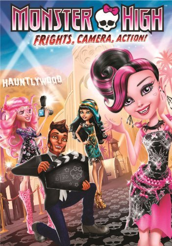 Monster High Frights Camera Action! DVD Nr Ws