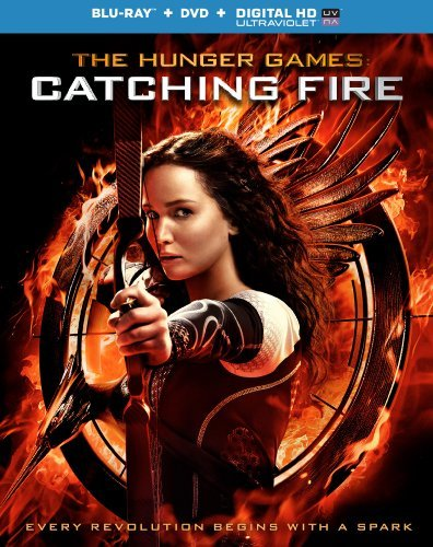 Hunger Games Catching Fire Lawrence Hutcherson Hemsworth Blu Ray DVD Nr