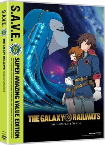 Galaxy Railways Complete Series DVD Tvpg