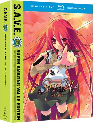 Shakugan No Shana Season 1 Blu Ray DVD Tv14