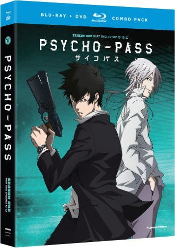 Psycho Pass Season 1 Part 2 Blu Ray DVD Tvma Ws
