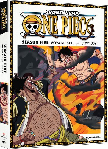 One Piece Season 5 Voyage 6 DVD Tv14
