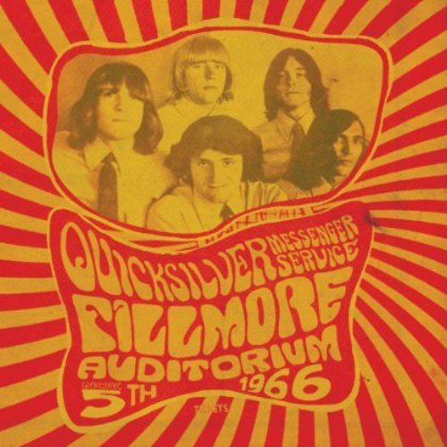 Quicksilver Messenger Service Fillmore Auditorium November 5