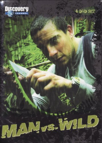 Discovery Channel Man Vs Wild 4 DVD Box Set Discovery Channel
