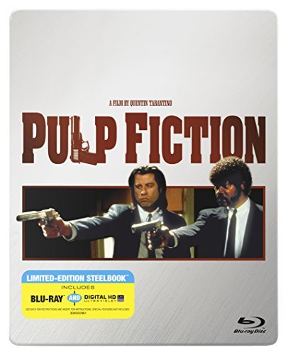 Pulp Fiction Travolta Jackson Thurman Blu Ray Steelbook