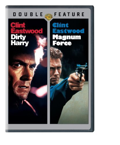Dirty Harry Magnum Force Double Feature Clint Eastwood DVD Nr