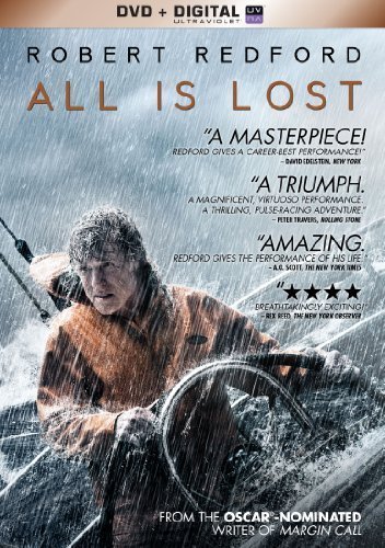 All Is Lost Redford Robert DVD Uv Pg13 Ws