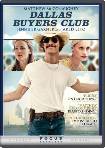 Dallas Buyers Club Mcconaughey Garner Leto Zahn DVD R Ws