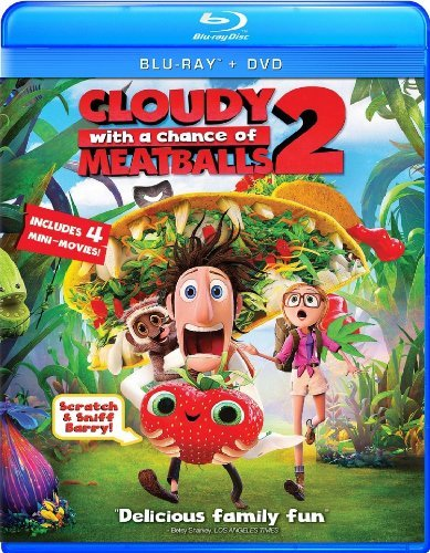 Cloudy With A Chance Of Meatballs 2 Cloudy With A Chance Of Meatballs 2 Blu Ray DVD Uv Pg