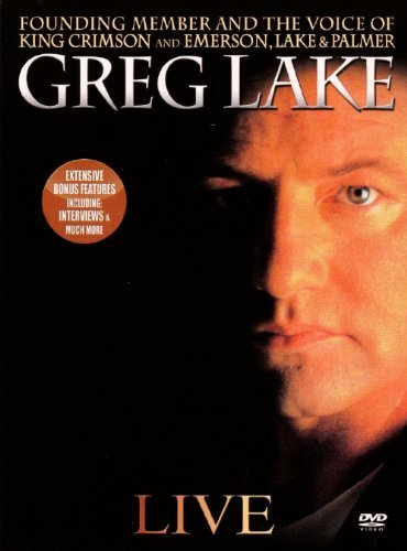 Greg Lake Live Digipak