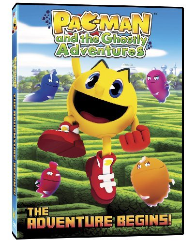 Pac Man & The Ghostly Adventures Adventure Begins DVD Nr