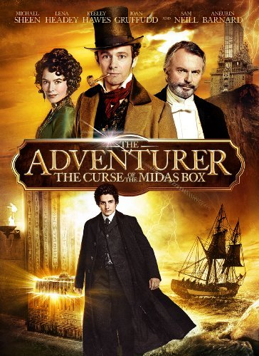 Adventurer The Curse Of The Midas Box Sheen Neill Headey Barnard DVD Pg Ws