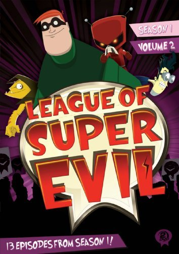 League Of Super Evil Season 1 Volume 2 DVD Ws