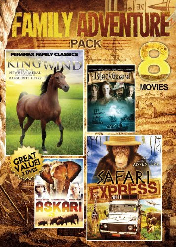 Vol. 5 8 Movies Family Adventu 8 Movies Family Adventure Pack Nr 2 DVD