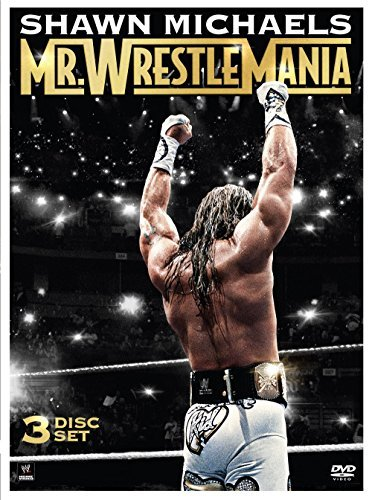 Wwe Shawn Michaels Wrestlemania DVD Nr Ff