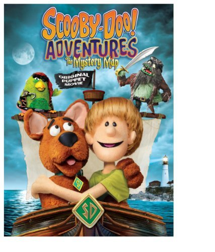 Scooby Doo Adventures Mystery Map DVD Nr