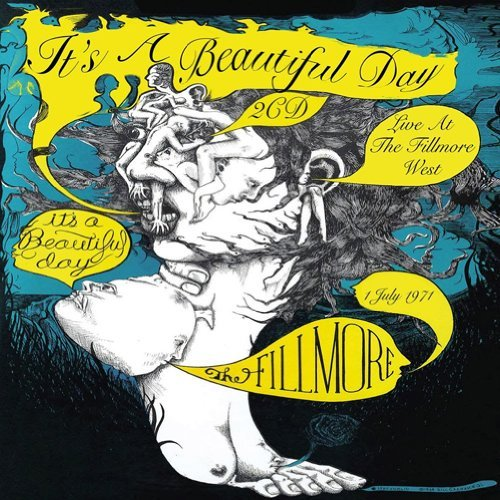 It's A Beautiful Day Live At The Fillmore West 1 Ju 2 CD