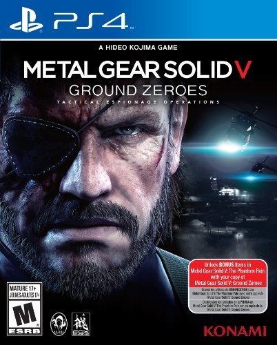 Ps4 Metal Gear Solid V Ground Xeroes Konami M