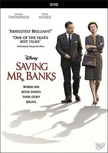 Saving Mr. Banks Hanks Thompson Farrell Giamatti DVD Pg13
