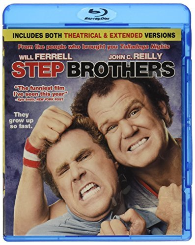 Step Brothers Ferrell Reilly Blu Ray