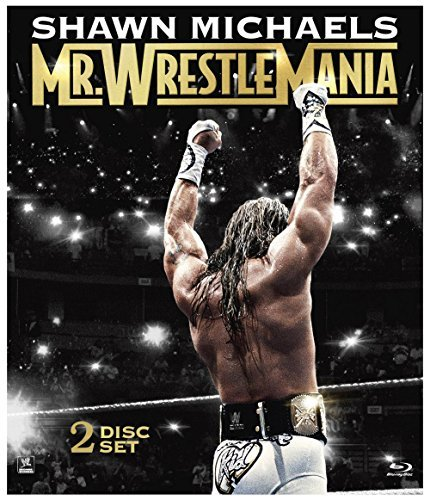 Wwe Shawn Michaels Wrestlemania Blu Ray Nr Ws