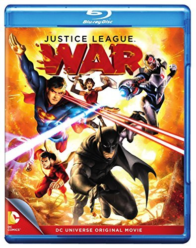 Justice League War Blu Ray DVD Dc Uv Nr
