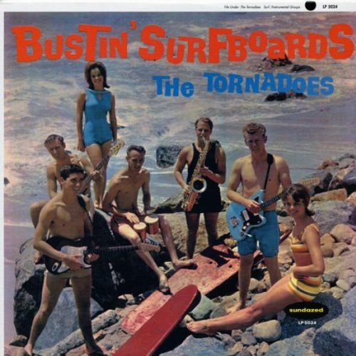 Tornadoes Bustin' Surfboards