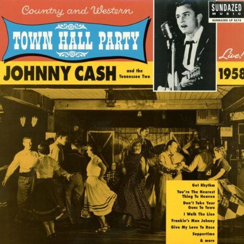 Johnny Cash Live At Town Hall Party 1958!