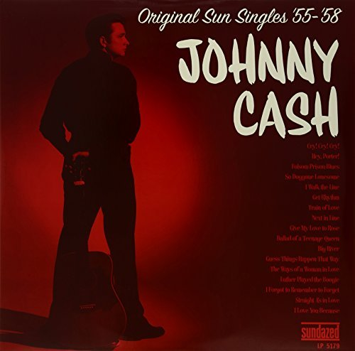 Johnny Cash Original Sun Singles 54 58 2 Lp Set