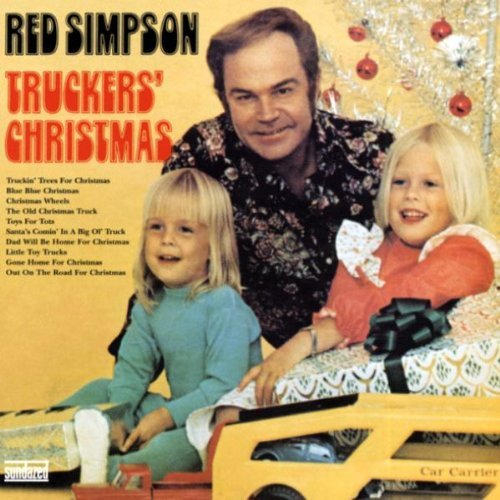 Red Simpson Trucker's Christmas