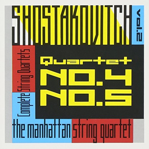 Dmitri Shostakovich String Quartets Vol. 2 Manhattan Str Qt