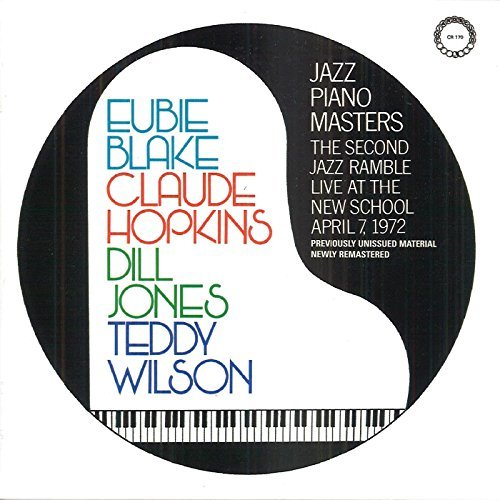 Jazz Piano Masters Jazz Piano Masters Blake Wilson Hopkins Jones