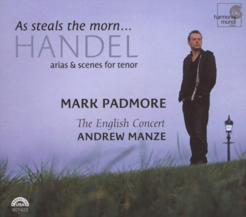 George Frideric Handel As Steals The Morn Arias & Sce Padmore*mark (ten) Manze English Concert