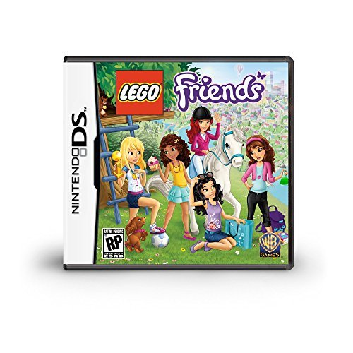 Nintendo Ds Lego Friends Whv Games E