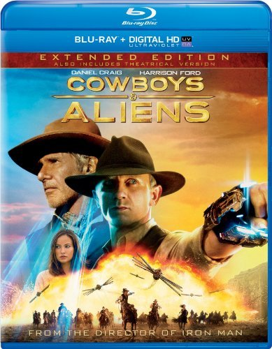 Cowboys & Aliens Ford Craig Extended Edition Blu Ray Nr