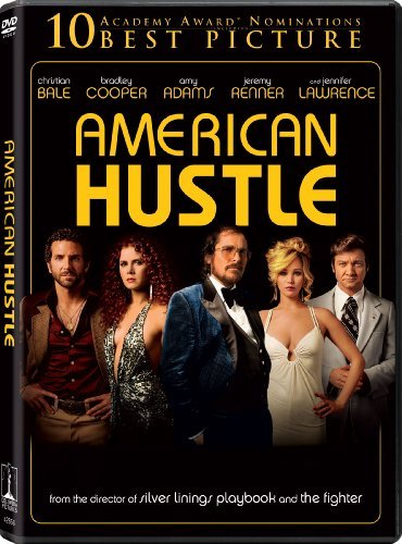 American Hustle Cooper Bale Adams Lawrence DVD Uv R Ws