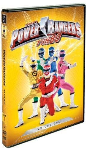 Power Rangers Turbo Volume 1 DVD Tvy7 Ws