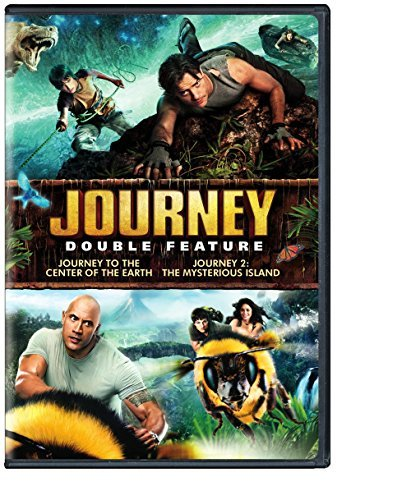 Journey To The Center Of The Earth Journey 2 Double Feature DVD Pg